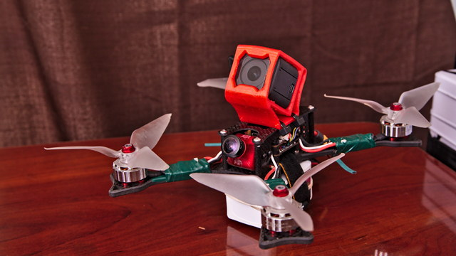 OwlRC Dragon frame with ZMX FinX30 Motors