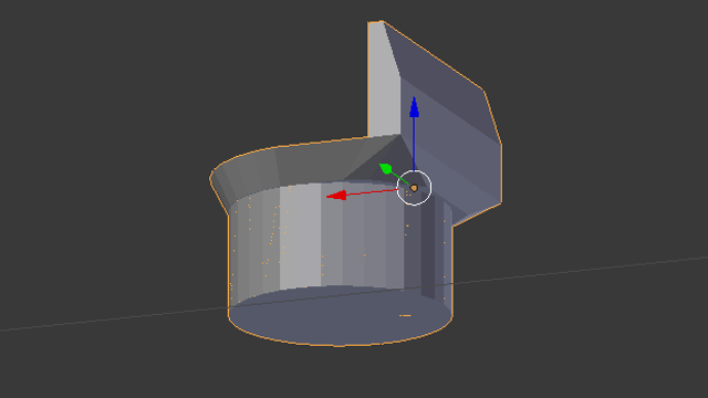 You can see all the newly beveled edges in Blender