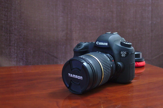 My Giant Canon 6D
