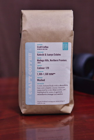 A Bag Of Craft Coffee