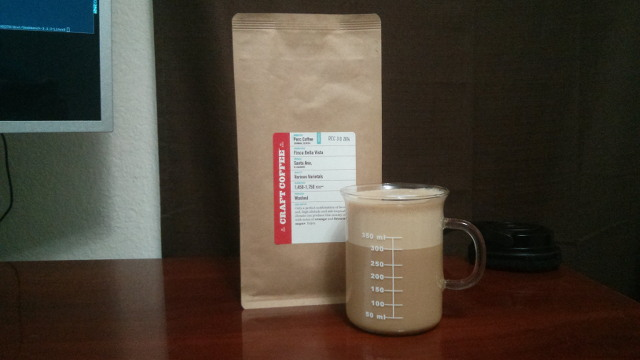 A Bag of Perc Coffee from Craft Coffee