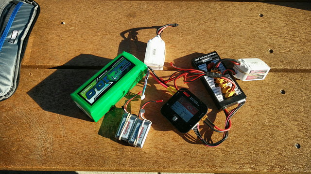 Field Charging Some LiPo Batteries