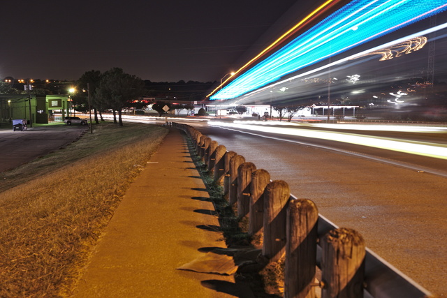Long Exposure Bus