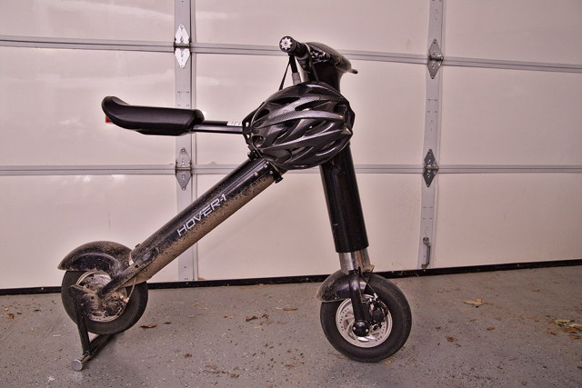 My dirty Hover-1 XLS Scooter