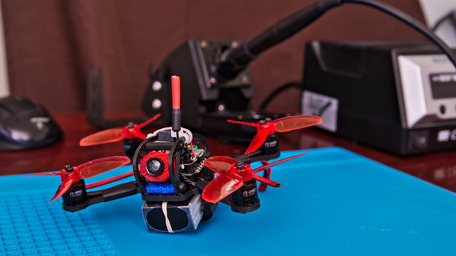 My Leader 120 Micro FPV Quad
