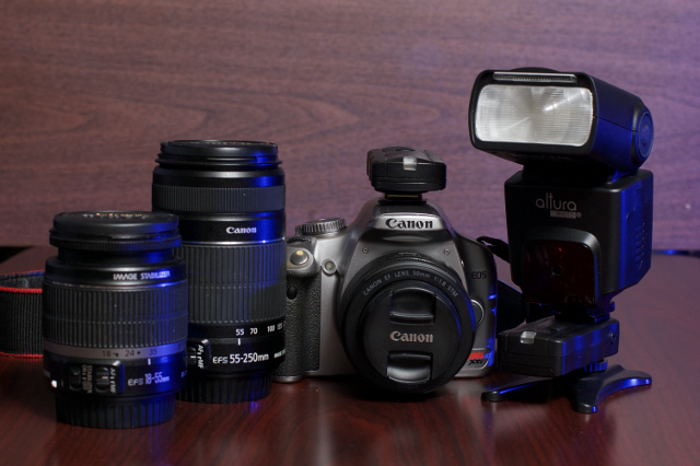 My Canon Rebel XSi and Lenses