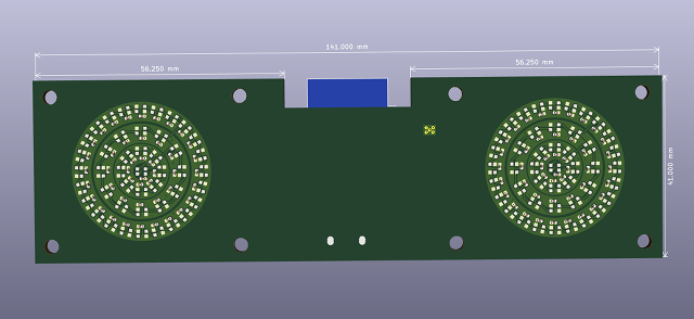 OoberLights Prototype PCB Front