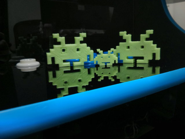 Glow In The Dark Space Invaders