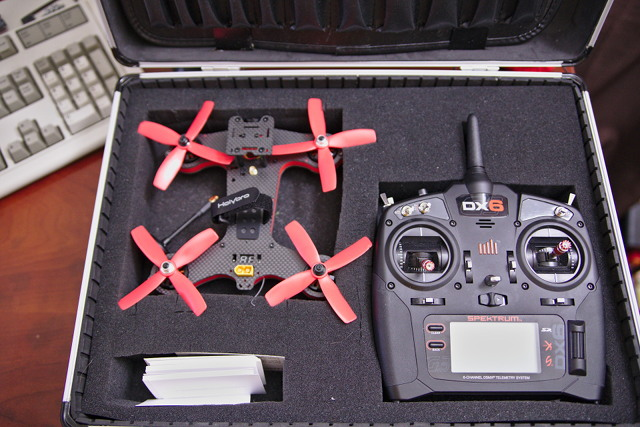 The Holybro Shuriken 180 Pro Fits Well Enough In My Drone Case