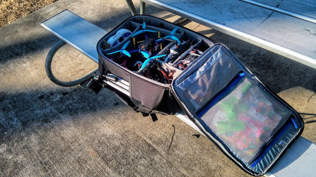 ThinkTank Airport FPV Helipak at the Park
