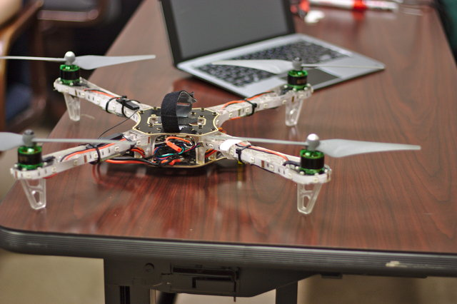 450 Size Quadcopter at TheLab.ms