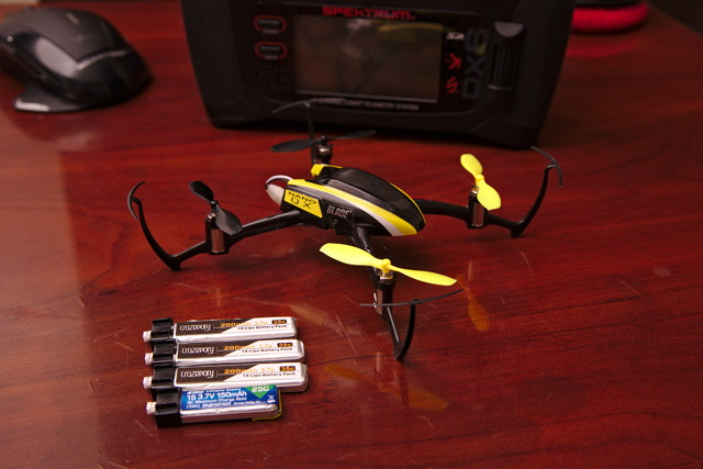 My Blade Nano QX with Extra Batteries