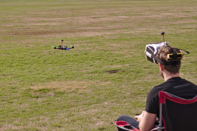 Alex Flying His FPV Racing Drone