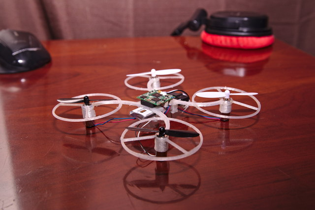 Custom 3D Printed 820 Quadcopter Drone