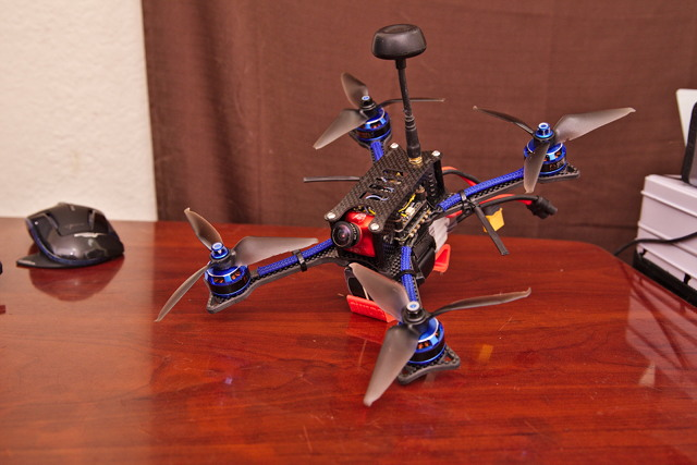 BFight 210 Components on my OwlRC Dragon DSX-5 Frame