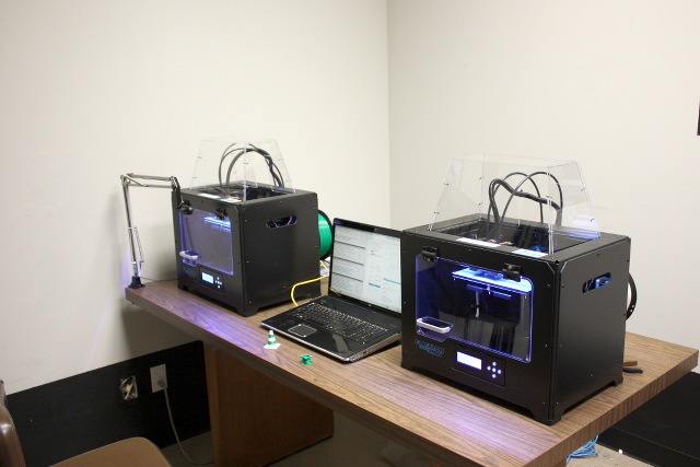 The 3D Printers at TheLab.ms in Plano, TX