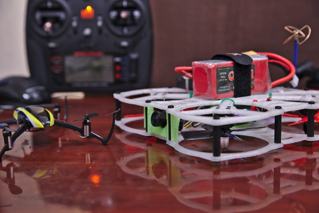 The PH145 3D Printed Brushless FPV Quadcopter