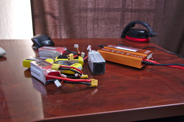Assortment of LiPo Batteries