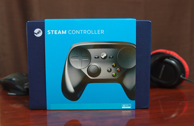 Steam Controller Packaging