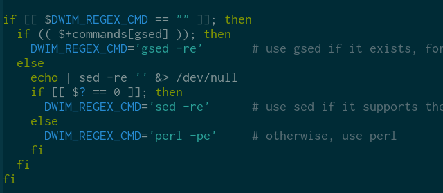 Changes to zsh-dwim related to sed